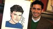 John Lloyd Young at Sardi's - John Lloyd Young - (with portrait)