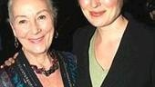 Rosemary Harris and daughter, Jennifer Ehle, stop for a picture.
