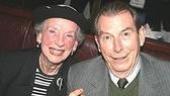 The distinguished Ann Kaufman Schneider with Entertaining Mr. Sloane's Richard Easton.