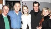 Henry Winkler with the full cast of Second Stage's Show People: Lawrence Pressman, Judy Greer,Ty Burrell and Debra Monk.