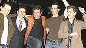 Stars Come Out for Jersey Boys -  Christian Hoff - John Lloyd Young - Antonio Banderas - J. Robert Spencer - Daniel Reichard (dancing)