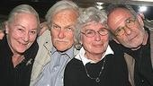 Rosemary Harris, Robert Symonds, Priscilla Pointer and Ron Rifkin all attended opening night.