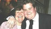 History Boys' James Corden with his mum!