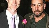 Caine Mutiny's Tom Nelis withWest Wing TV actor, Richard Schiff.