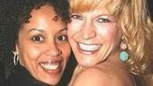 Krisha Marcano, who plays Squeak in The Color Purple, gets together with Felicia Finley, the not-so-nice Linda in The Wedding Singer.