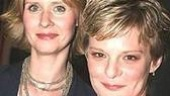 You look mahhhvelous, ladies! Rabbit Hole's Cynthia Nixon and Shining City's Martha Plimpton dare to bare.