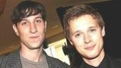 Best Featured Actor in a Play nominees:Pablo Schreiber of Awake and Sing!and Samuel Barnett of The History Boys.