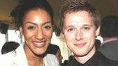 Me & Ms. Jones: Sarah Jones and History Boys' nominated actor Samuel Barnett give us a snap.