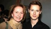 Best Actress Tony nominee Kate Burton with History Boy and Best Featured Actor nominee Samuel Barnett.