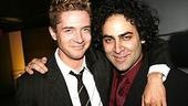 Topher Grace of That 70s Show took in pal Jason Antoon's opening night performance in Burleigh Grime$.