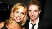 Burleigh Grime$ understudy Kelly Sullivangets in close with Topher Grace.
