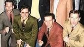 Manning Brothers Meet the Jersey Boys - Peyton Manning - Eli Manning - Jersey Boys