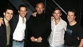 Photo Op - Kevin Costner at Jersey Boys - John Lloyd Young - Christian Hoff - Kevin Costner - Daniel Reichard - Steve Gouveia