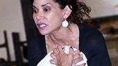 Les Miz Press Rehearsal - Daphne Rubin-Vega (singing)