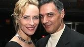 Laila Robins was in attendance with her longtime companion Robert Cuccioli, currently starring off-Broadway in Jacques Brel.
