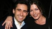 Catherine Zeta-Jones and Michael Douglas Visit Jersey Boys - Catherine Zeta-Jones - John Lloyd Young