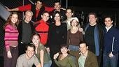 Catherine Zeta-Jones and Michael Douglas Visit Jersey Boys - Group Shot