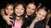 Photo Op - Les Miz opening - Carly Rose Sonenclar - Kylie Liya Goldstein - Celia Keenan-Bolger - Tess Adams