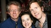 Utopia castmates David Manis, Amanda Leigh Cobb and Robert Stanton. As standby, Manis went on for Richard Easton in previews as the actor recovered from a arrhythmia.