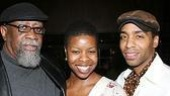 Lending more support from the Seven Guitars clan were composer Bill Sims and stars Roslyn Ruff and Kevin Carroll.