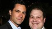 Former Tisch classmates, Cold Case&amp;#39;s Danny Pino and original Avenue Q-er Jordan Gelber.