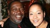 Photo Op - Spring Awakening Broadway opening - Chuck Cooper - Lilli Cooper