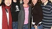 Photo Op - Kelly Clarkson at Avenue Q - Ann Sanders - Jennifer Barnhart - Kelly Clarkson - Mary Faber - Robert McClure