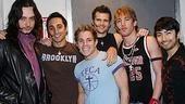Photo Op - Constantine Maroulis at Altar Boyz - Constantine Maroulis - Eric Schneider - Zach Hanna - Kyle Dean Massey - Landon Beard - Shaun Taylor-Corbett