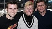 Photo Op - Altar Boyz bless the NASDAQ -  Kyle Dean Massey - (parents) Janice Massey - Dean Massey