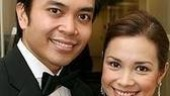 Flower Drum Song reunion!Co-stars Jose Llana and Lea Salonga.