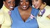 A trio of The Color Purple inspirational voices:Montego Glover, NaTasha Yvette Williamsand Krisha Marcano.