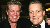 Christopher McDonald, wo recently wound up a Broadway run as Billy Flynn in Chicago, with Brian Haley, who Broadway debuts in Deuce.