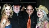 Director Lonny Price (2nd from right) with former Urban Cowboy star Jenn Colella, 110's musical dir. Paul Gemignani and Paul's wife Derin Altay.
