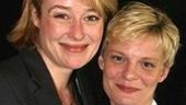 The Coast of Utopia's Best Featured Actress in a Play nominees Jennifer Ehle and Martha Plimpton.