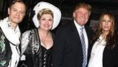 Photo Op - Donald Trump at Curtains - David Hyde Pierce - Debra Monk - Donald Trump - (wife) Melania