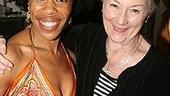 No Child... playwright/performer Nalija Sun was presented herTheatre World Award  by the great Rosemary Harris.