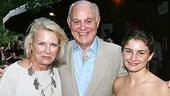 Candice Bergen and her daughter Chloe pose with Marshall Rose.