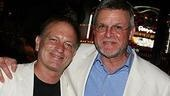 Justin Deas (a.ka. Mr. Margaret Colin) poses for a pic with fellow Guiding Light star Ron Raines.