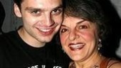 Broadway.com Fresh Face Sebastian Stan(Talk Radio) attended In the Heights final off-Broadway performance to cheer on family friend Priscilla Lopez.