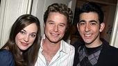 Billy Bush at Grease - Laura Osnes - Billy Bush - Max Crumm