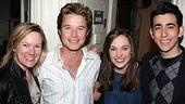 Billy Bush at Grease -  Kathleen Marshall - Billy Bush - Laura Osnes - Max Crumm