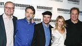 David Grindley with his Pymalion stars: Boyd Gaines, Jefferson Mays, Claire Danes and Jay O. Sanders.