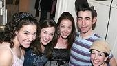 Photo Op - Sierra Boggess at Grease - Lindsay Mendez - Laura Osnes - Sierra Boggess - Max Crumm - Kirsten Wyatt