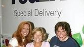 Photo Op - Mamma Mia! Fed Ex Event - Carolee Carmello - Carey Anderson - Gina Ferrall  (their items)
