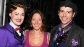 Sarah meets Mary and Bert! Ashley Brown, Sarah McLachlan and understudy Matt Loehr, who was on in the role that night.