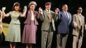 Affair's principals take an opening night bow in San Diego. From left, Leslie Kritzer, Faith Prince, Tom Wopat, Harvey Fierstein and Matt Cavenaugh.