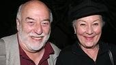 Also at the Old Globe right now, the legendary Rosemary Harris in the new one-actor play Oscar and the Pink Lady. Here with her director Frank Dunlop.