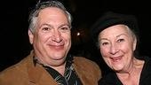 Two legendary Broadway stars,Harvey Fierstein and Rosemary Harris.