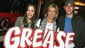 Photo Op - Olivia Newton-John at Grease -  Laura Osnes - Olivia Newton-John - Max Crumm (Grease sign)