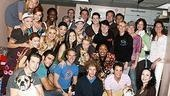Photo Op - Actors Fund benefit of Legally Blonde - Bebe Neuwirth - entire cast